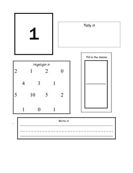 Math Journal prompts bundle