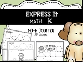 MATH EXPRESS IT {2D Shapes} Journal. DISTANCE LEARNING PACKET