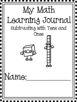 Math Journal subtracting with tens and ones