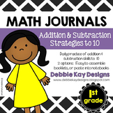 Math Journals:  Addition & Subtraction Strategies to 10