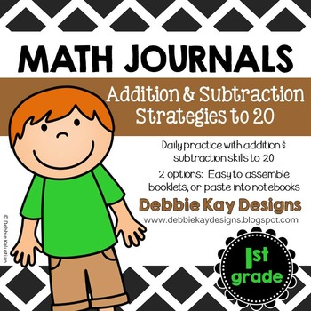 Math Journals:  Addition & Subtraction Strategies to 20