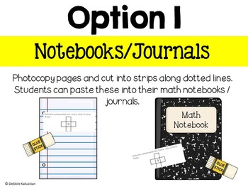 Math Journals:  Comparing Numbers