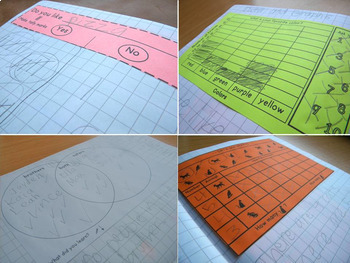 Math Notebooks: K-1 Data & Graphs
