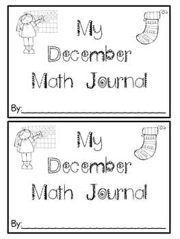 Math Journals For December
