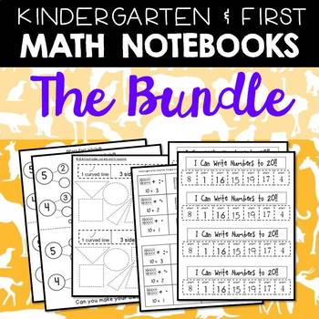 Math Notebooks: K-1 Bundle