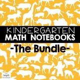 Math Journals: Kdg Printables Bundle
