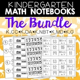 Math Journals: Kdg Printables Bundle