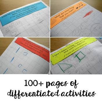 Math Notebooks: Kindergarten Open-Ended Questions