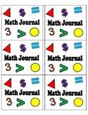 Math Journals (Labels)
