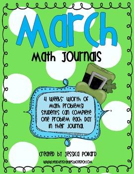 Math Journals {March}