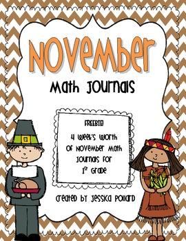 Math Journals {November}