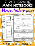 Math Journals: Place Value Printable for First Gr (Part 2)