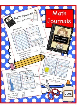 Math Journals (Primary, 1-10, teen numbers and decade numbers)