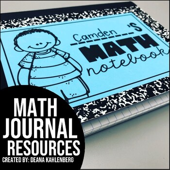 Math Journal Resource Pack