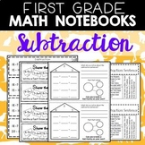 Math Journals: Subtraction Printables-First Grade