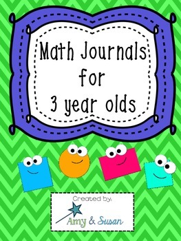 Math Journals for 3's
