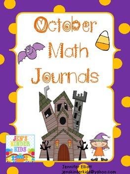 Math Journals for October