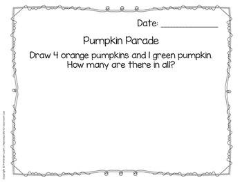 Math Journals for Pre-K: BUNDLE - SCHOOL YEAR