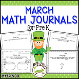 Math Journals for Pre-K: MARCH