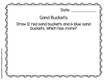 Math Journals for Pre-K: MAY
