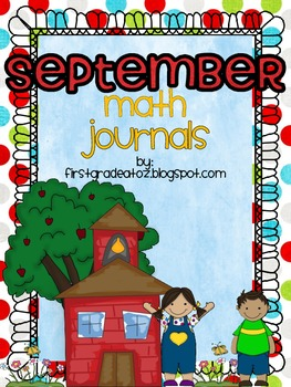 Math Journals for the month of September