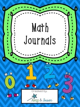 Math Journals - request by customer