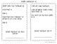 Math Jumbles Packet 1