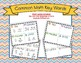 Math - Key Word Reference Card