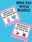 Math Key Words Bundle