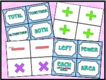 Math Key Words: Card Sort/Flash Cards (66 Key Words)!