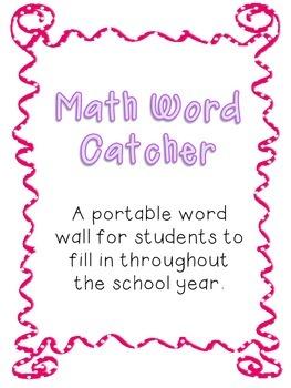 Math Key Words Catcher