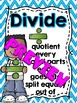 Math Key Words Posters (Chevron)