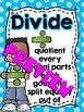 Math Key Words Posters (Colored Polka Dots)