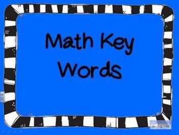 Math Key Words Powerpoint