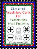 Math Key Words - Vocabulary Clue Words for Mathematics Wor