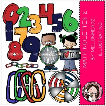 Math Kidlettes 2 by Melonheadz COMBO PACK