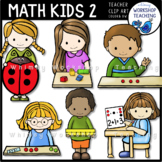 Math Kids 2 Clip Art
