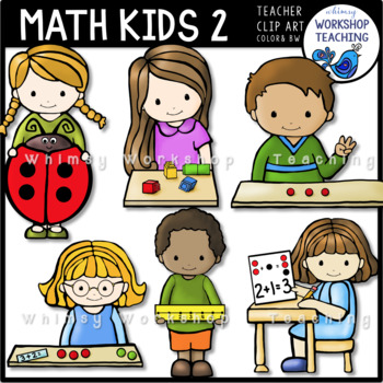 Math Kids 2 Clip Art Whimsy Workshop Teaching