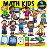 Math Kids Clip Art Bundle