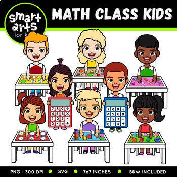 Math Kids Clip Arts COLOSSAL Bundle