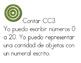Math Kinder targets in Spanish