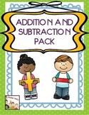 Math-Addition and Subtraction Kindergarten
