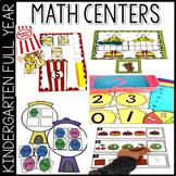Math Activities for Kindergarten: Year Long Bundle