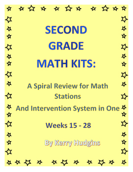 Math Kits 2:  A Spiral Review for Math Stations