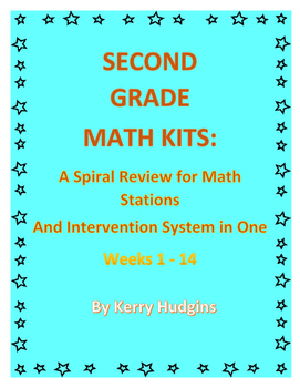Math Kits:  A Spiral Review for Math Stations