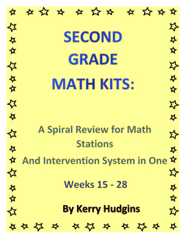 Math Kits Bundle for Math Stations and Interventions