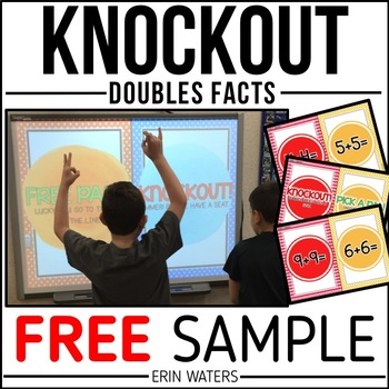 Math Knockout FREEBIE {Doubles Facts}