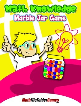 Math Knowledge Marble Jar Game {Place Value Game}