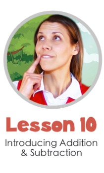Math LESSON 10 ~ VIDEO & PRINTOUT ~ Addition and Subtraction