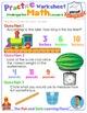 Math LESSON 8 ~ VIDEO & PRINTOUT ~ Measuring